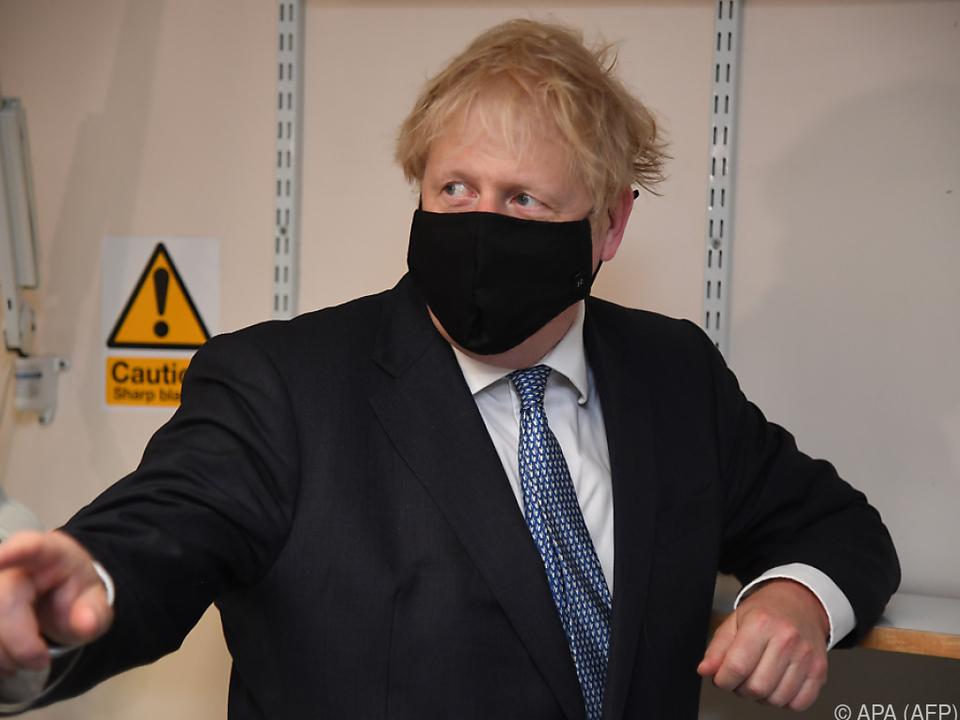 Johnson hat mit Pandemie, EU und Schottland zu kämpfen
