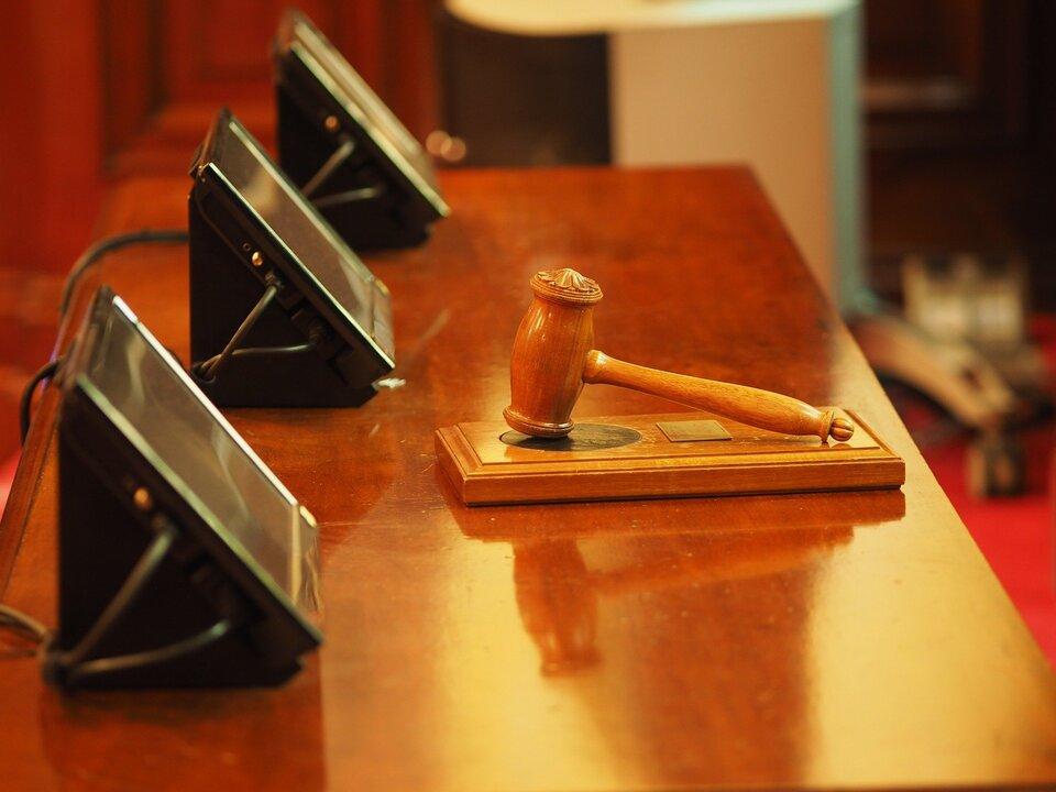 Gericht Richter