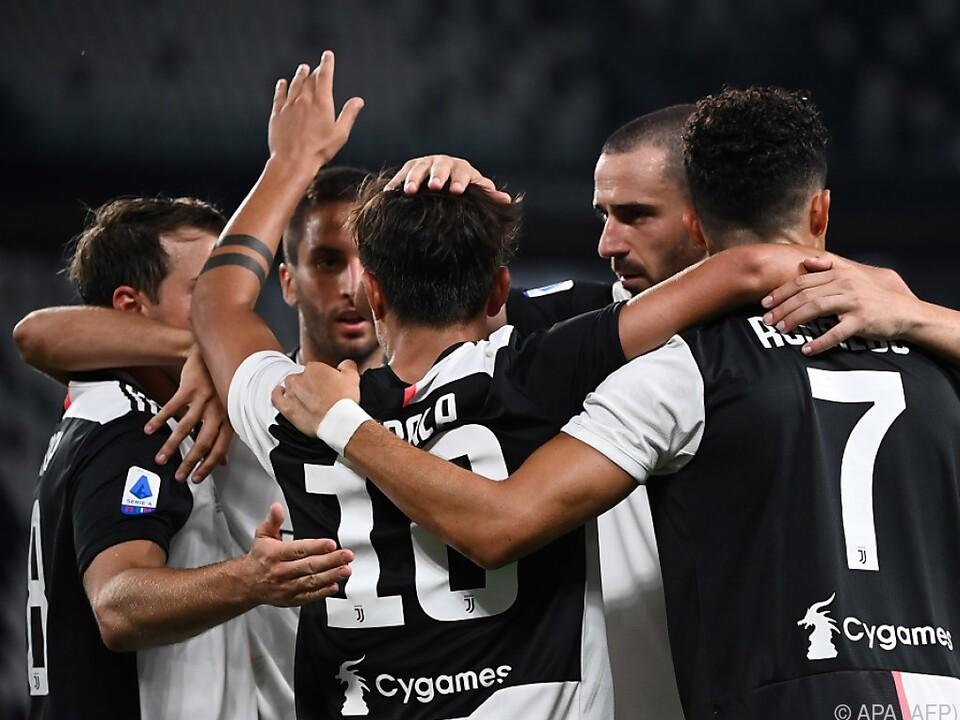 Juventus einen Schritt näher am Scudetto