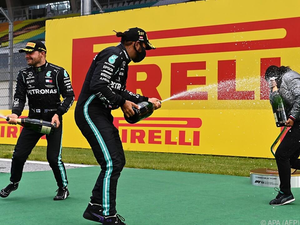 Keine Verschnaufpause, Mercedes bleibt das gejagte Team