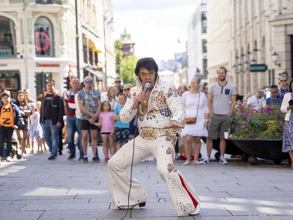 Kjell Elvis sang fast 51 Stunden lang