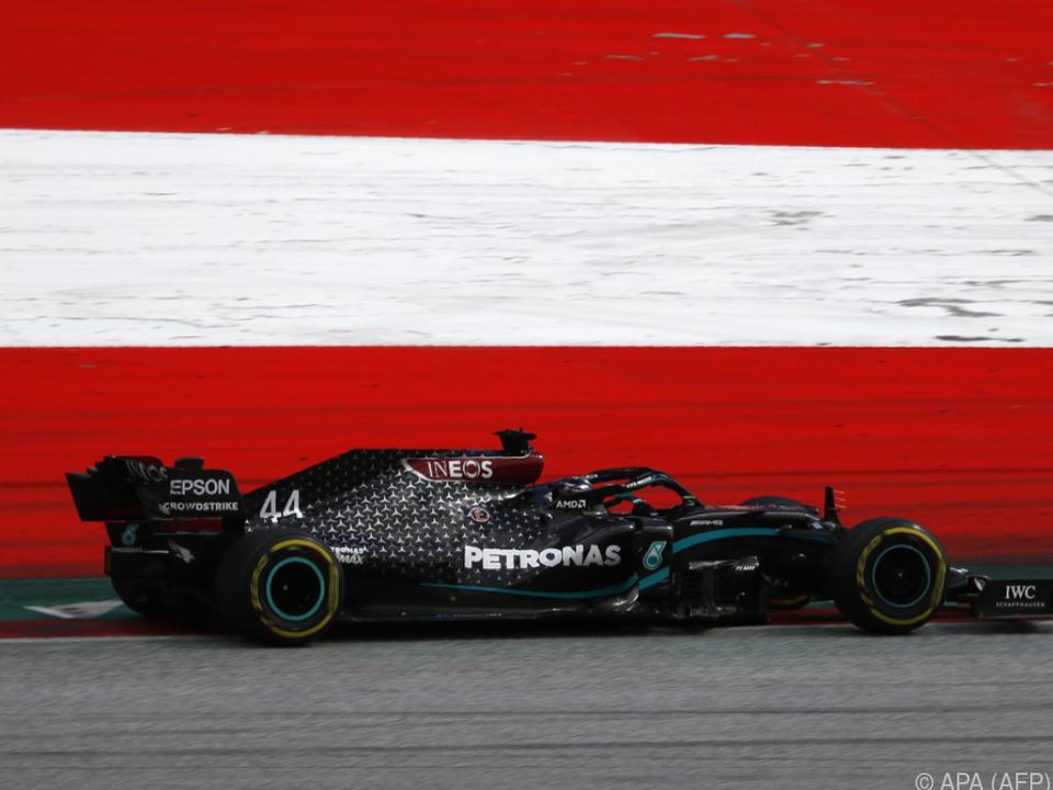 Lewis Hamilton gewann auch das zweite Rennen in Spielberg