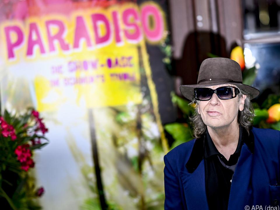 Lindenberg bei der Premiere der Show \