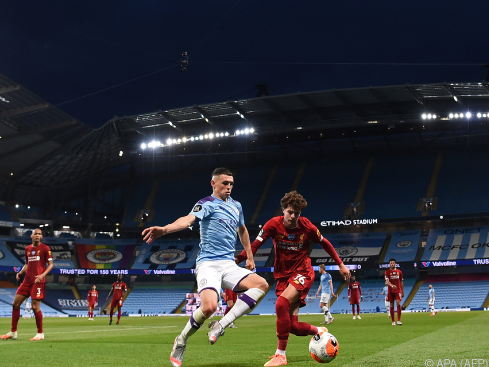 Liverpool kam in Manchester unter die Räder