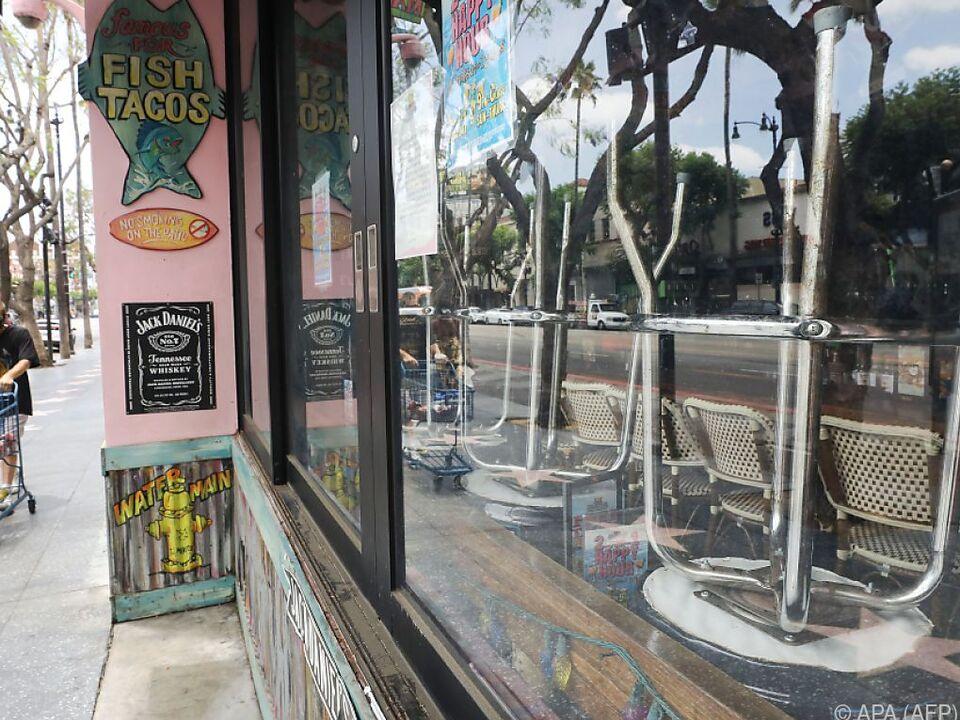 Lockdown betrifft auch Los Angeles