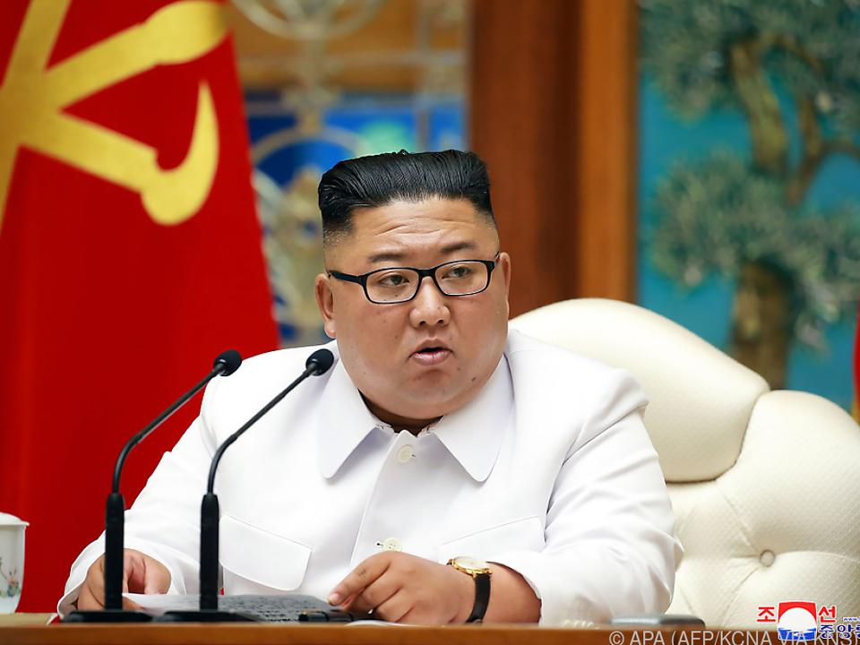 Machthaber Kim berief eine Krisensitzung ein