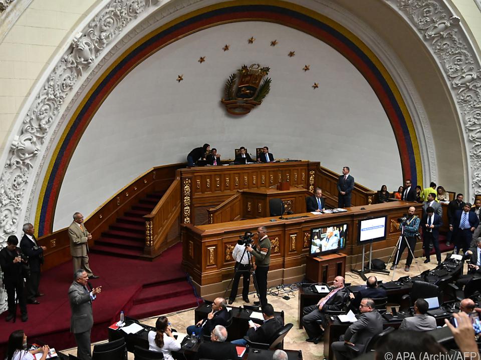 Machtkampf in Venezuela