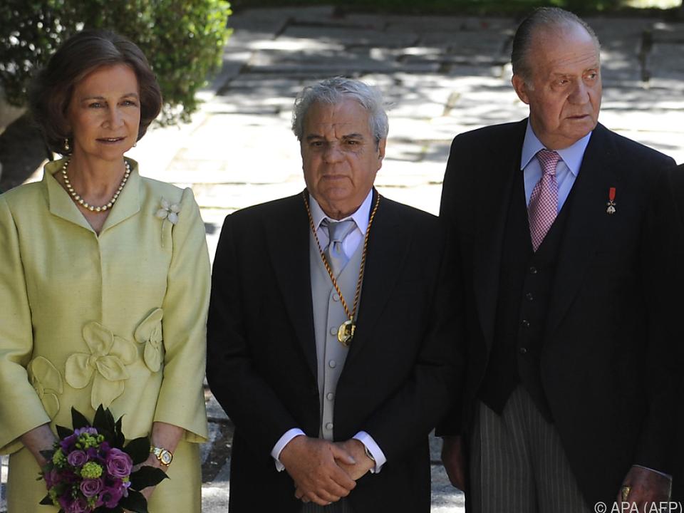 Marse im Jahr 2009 mit dem damaligen spanischen Königspaar