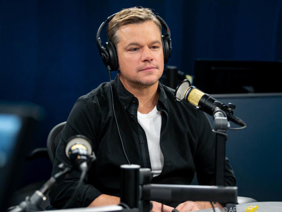 Matt Damon teilt seine Meinung offen mit