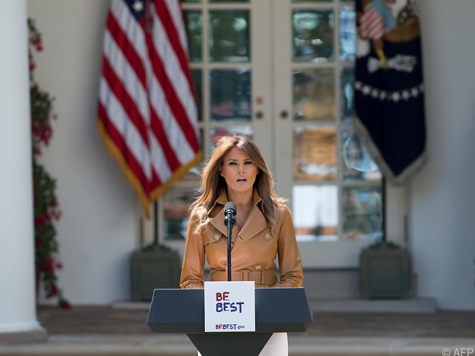 Melania Trump will dem Rosengarten zu alter Schönheit verhelfen