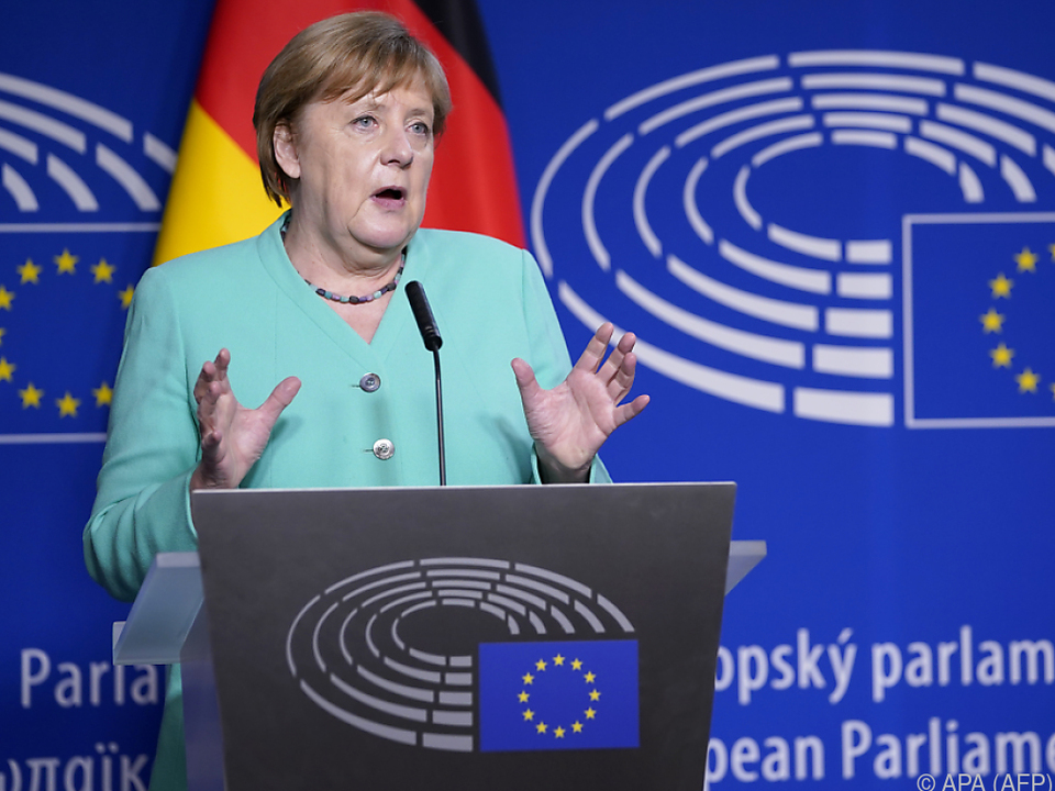 Merkel stellte Ziele während der deutschen EU-Ratspräsidentschaft vor