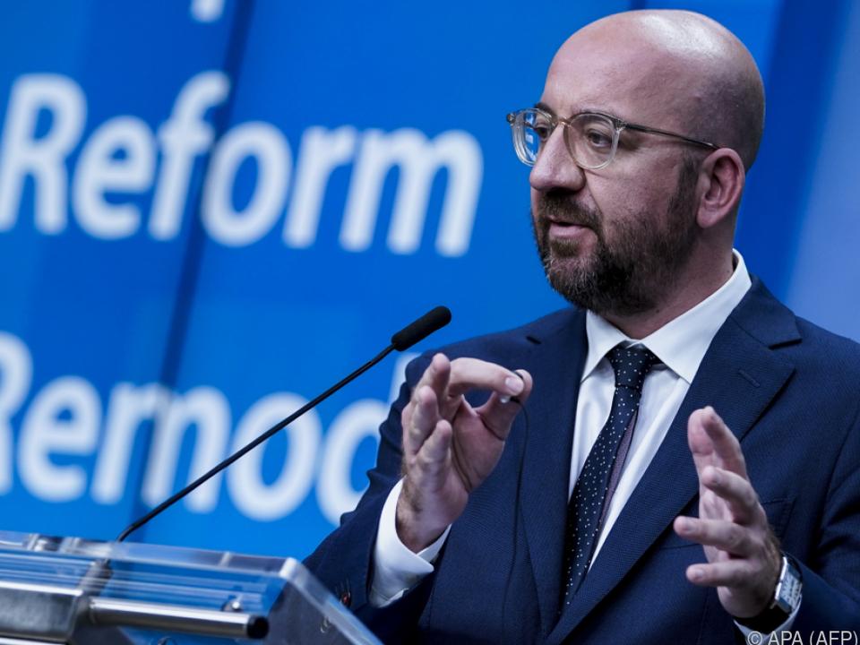 Michel schlägt Aufbaufonds in Höhe von 750 Milliarden Euro vor