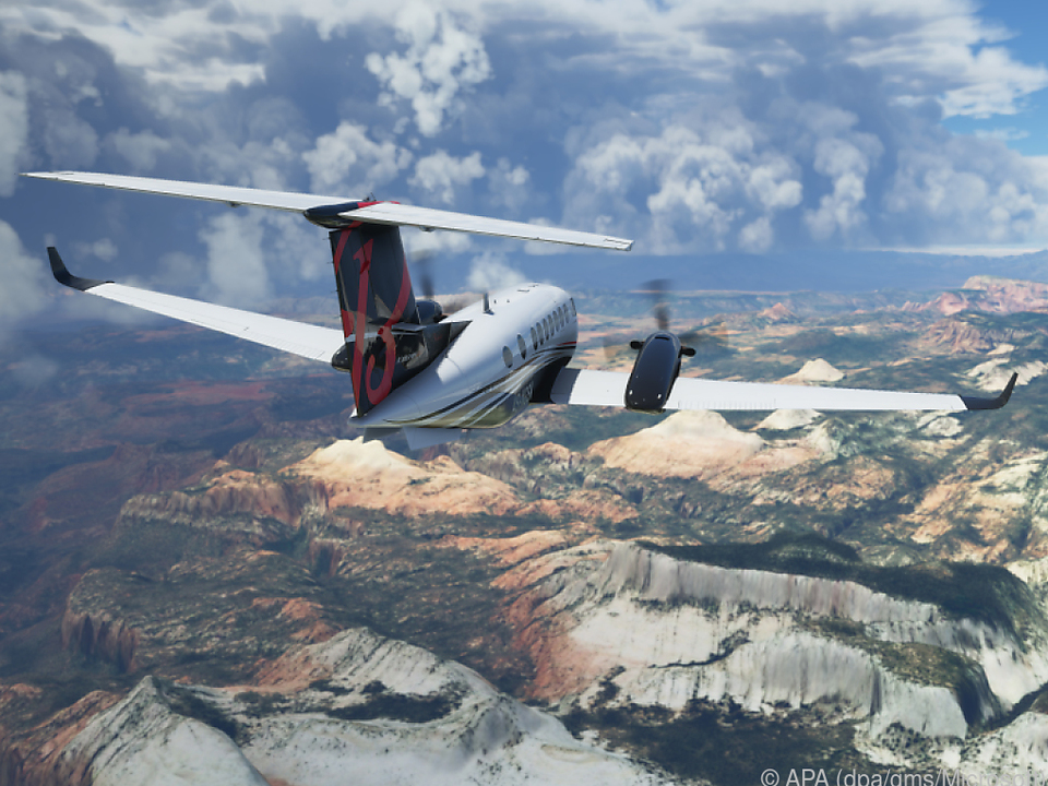 Microsoft verspricht für den neuen Flight Simulator dynamische Wettersimulationen