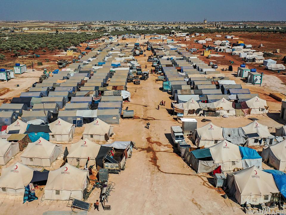 Millionen Geflüchtete in Syrien von Hilfslieferungen abhängig