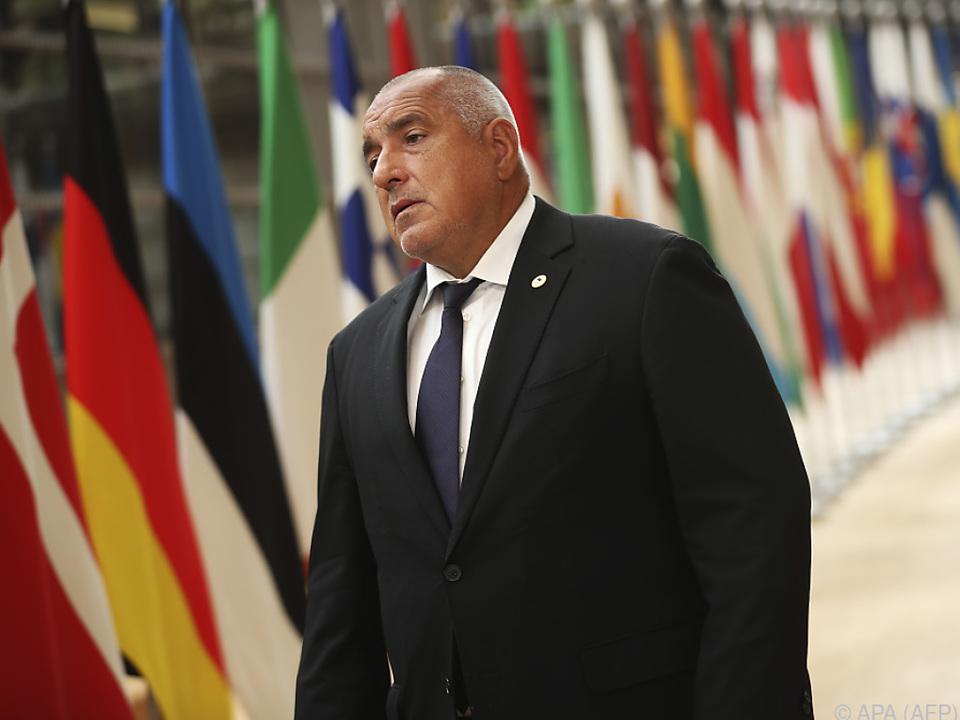 Ministerpräsident Boiko Borissow steht im Zentrum der Kritik