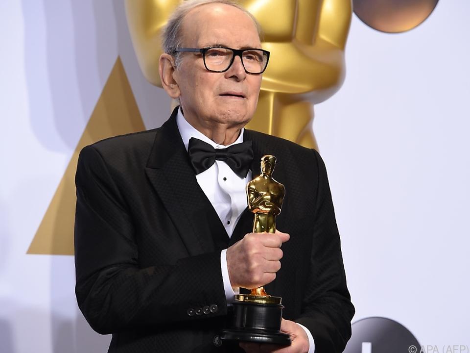 Morricone wurde mit zwei Oscars prämiert