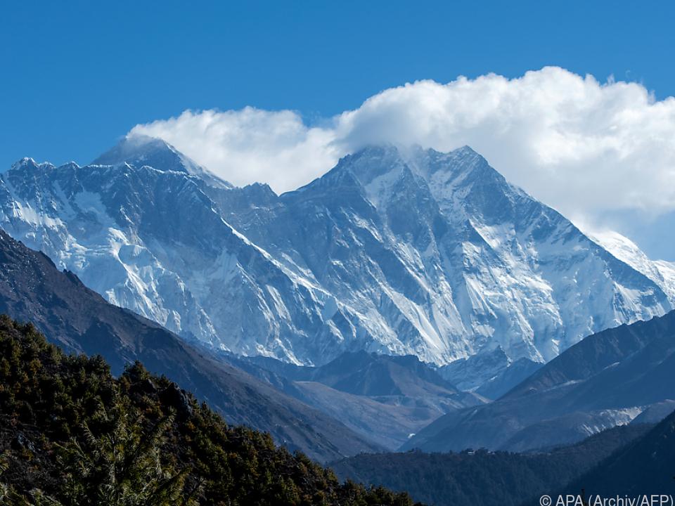 Mount Everest war wegen Corona gesperrt