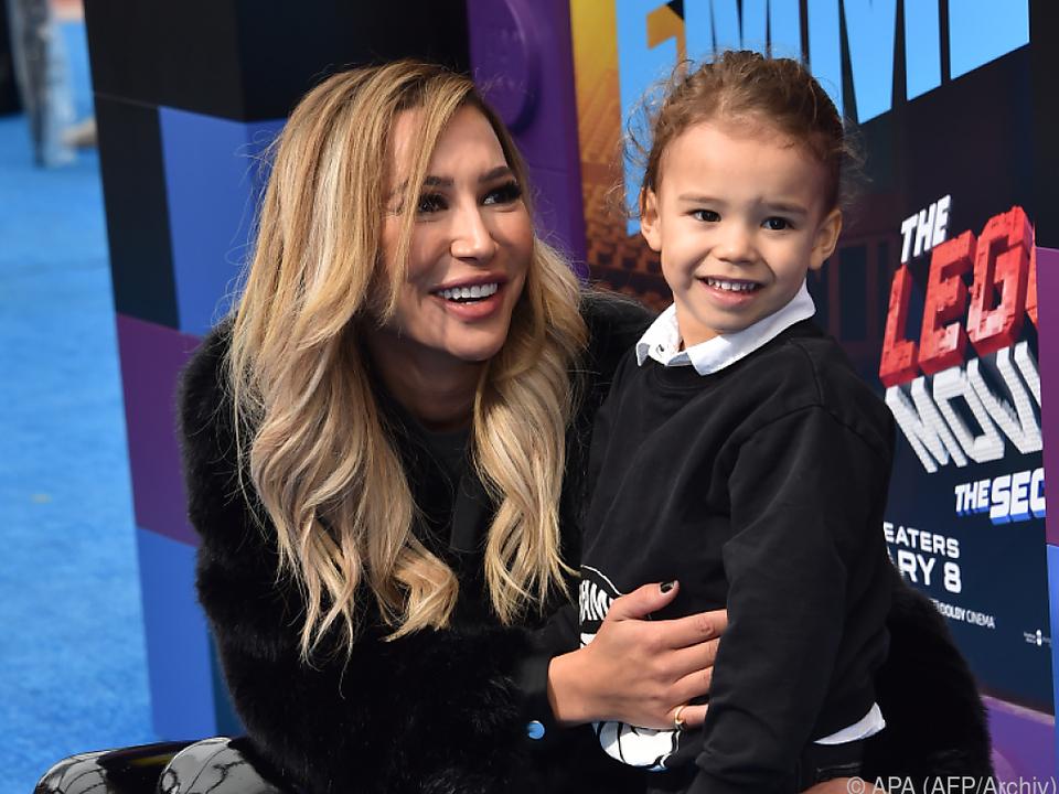 Naya Rivera mit ihrem Sohn, der gerettet werden konnte