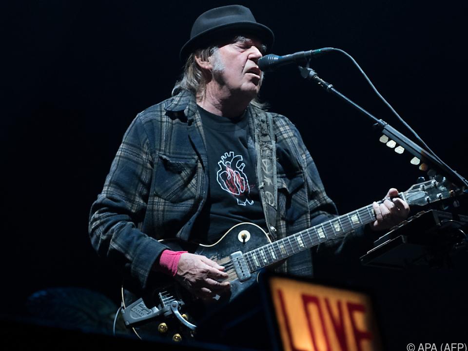 Neil Young ist kein Fan von US-Präsident Trump