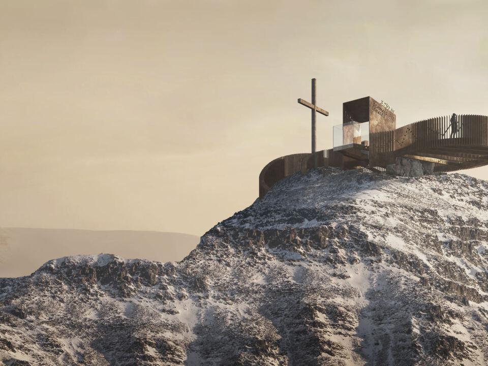 Iceman Ötzi Peak Aussichtsplattform Grawand