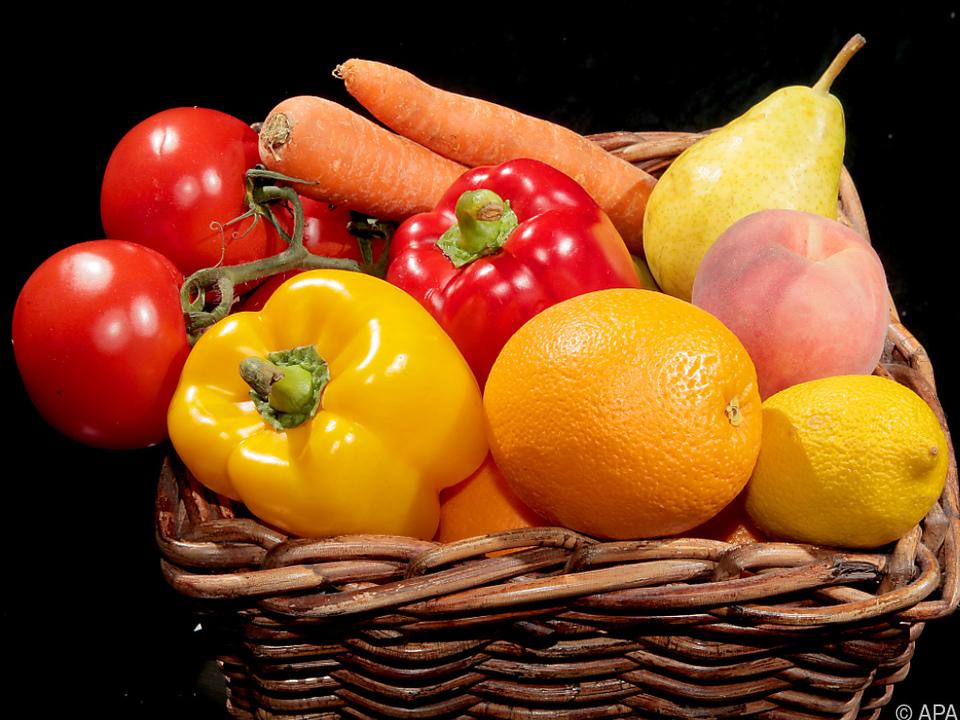 Obst und Gemüse: Gesund aber nicht immer unbelastet