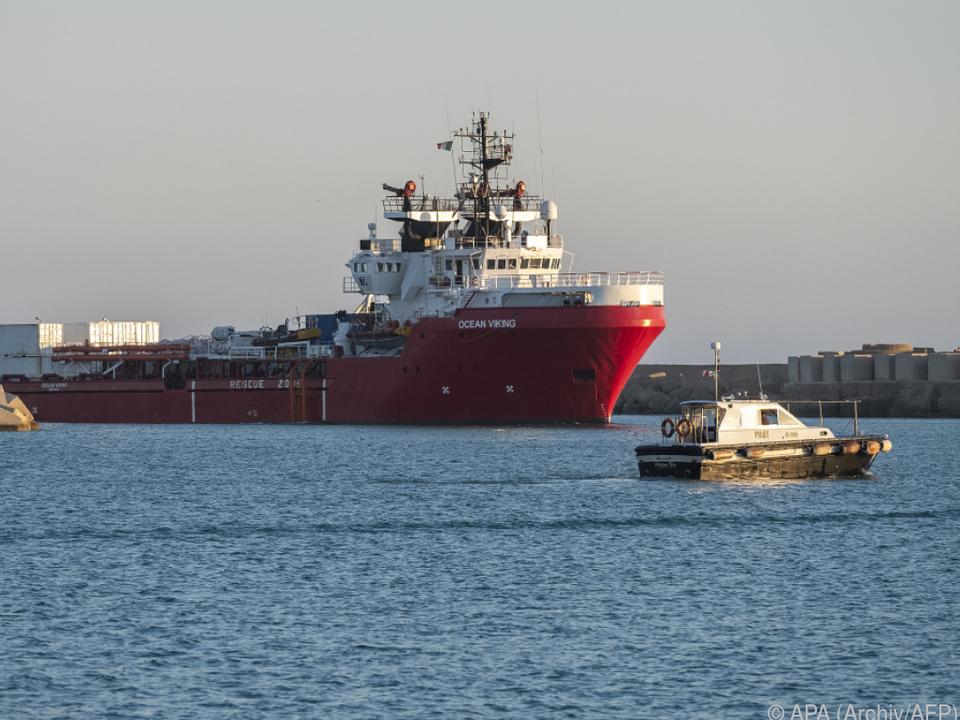 Italien - Rettungsschiff
