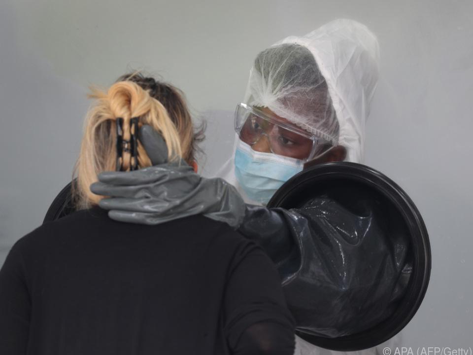 Pandemie in den USA weiter auf dem Vormarsch