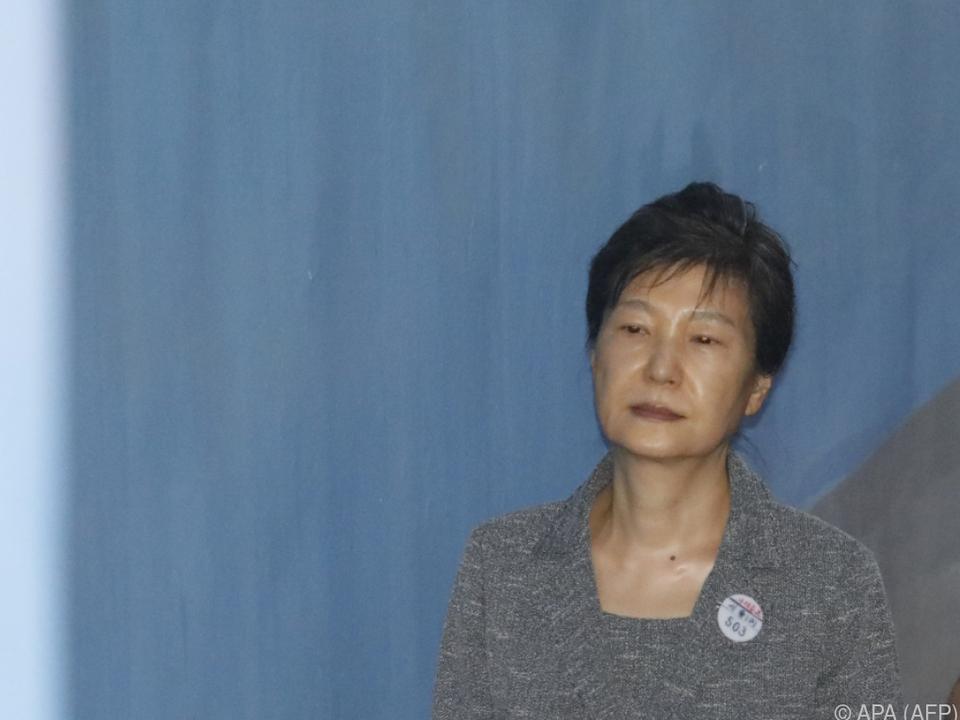 Park Geun-hye erschien nicht selbst vor Gericht