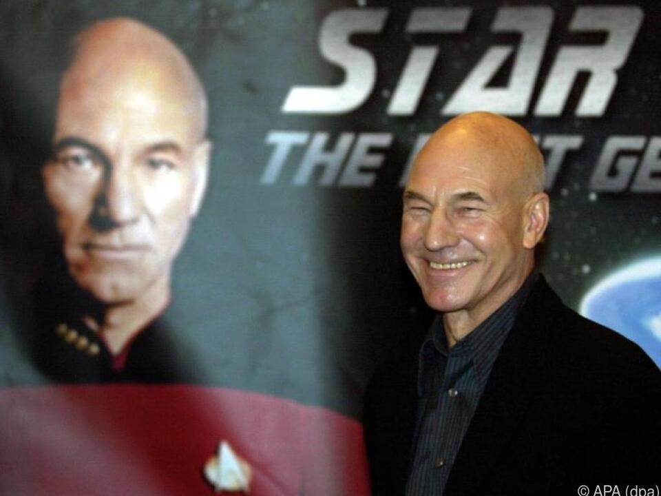 Patrick Stewart wurde mit der Rolle des Captain Picard weltberühmt