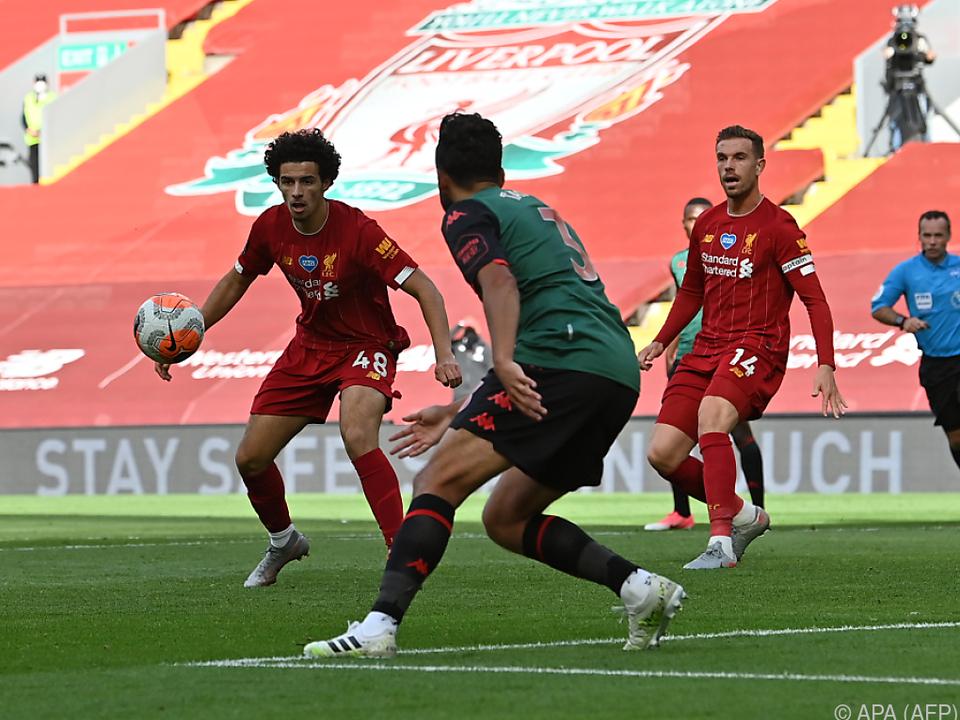Premierentreffer von Curtis Jones für Liverpool