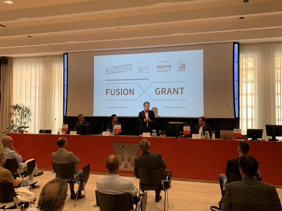 Pressekonferenz_Fusion Grant