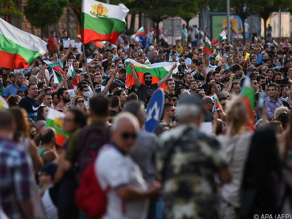 Proteste gegen Korruption