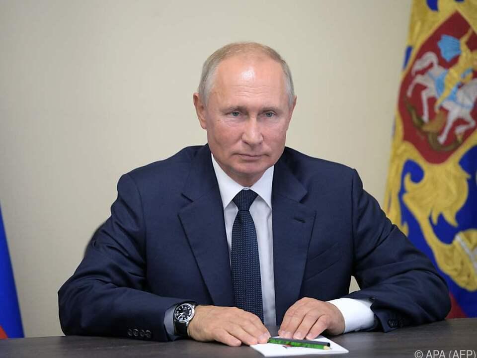 Putin befasste sich mit einer Lösung für die Ostukraine