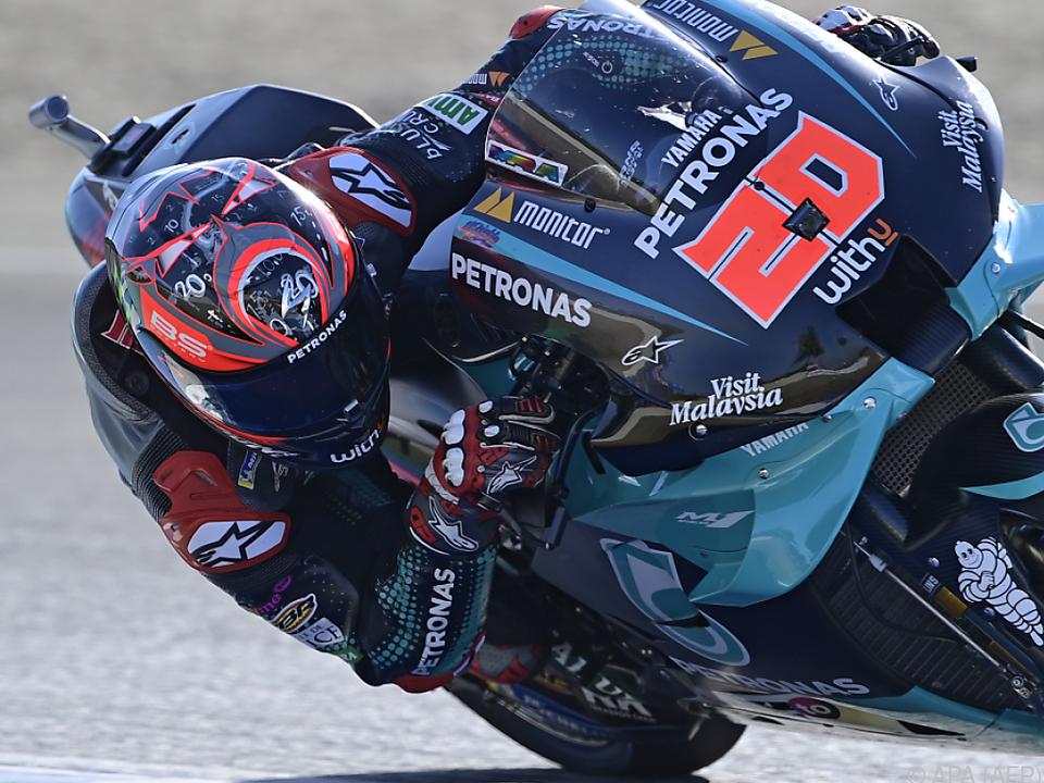 Quartararo erneut der Schnellste in Jerez