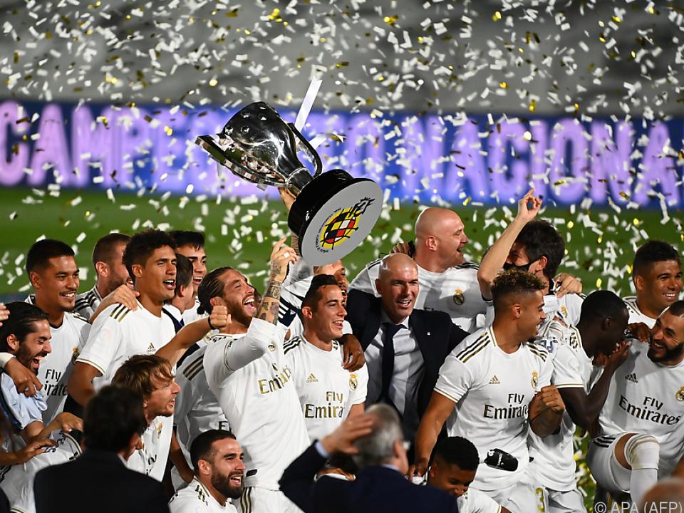 Real Madrid nach zwei Jahren Pause wieder Meister