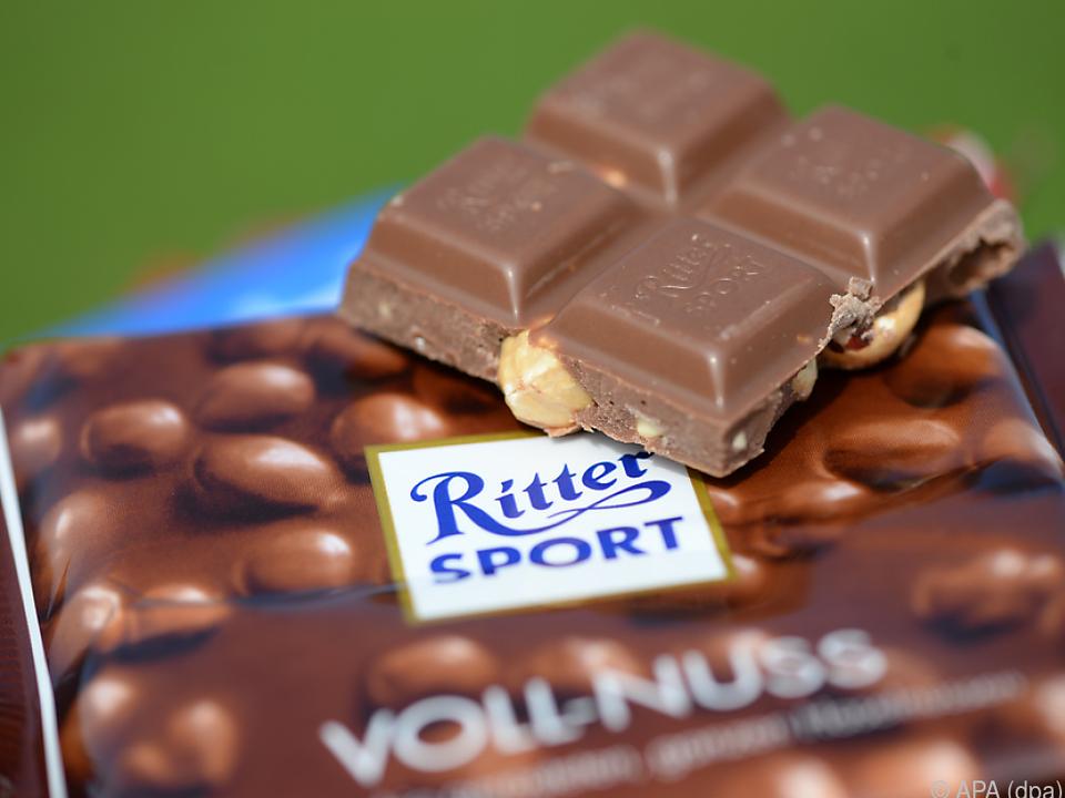 Ritter Sport bleibt einzig quadratische Schokolade