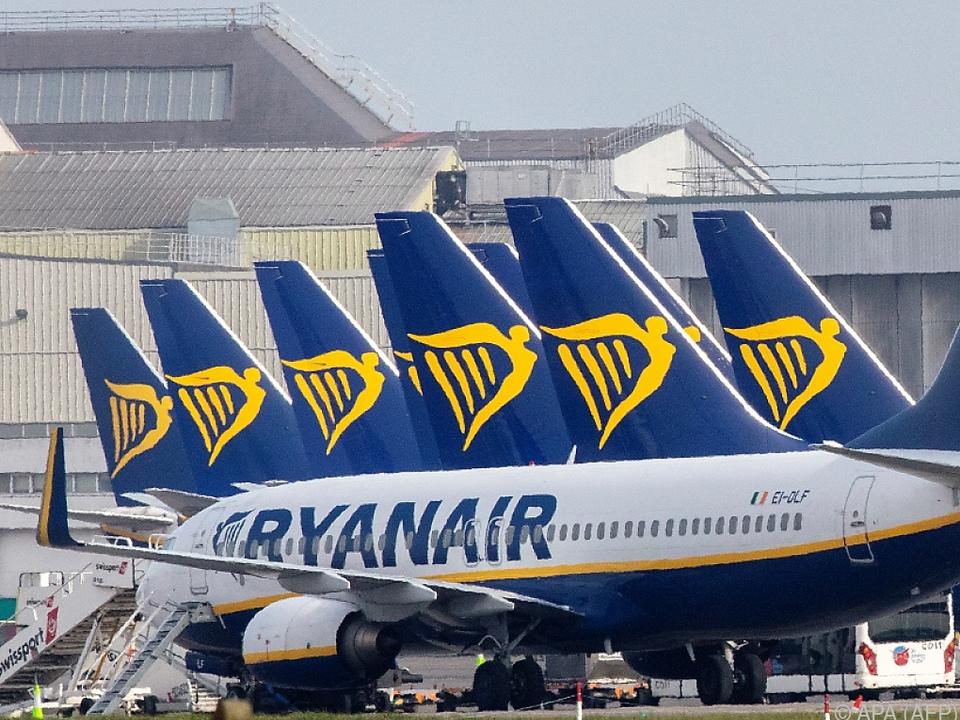 Ryanair ist eine von vielen Fluglinien in Not