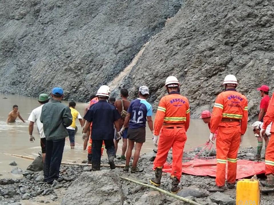Schwieriger Einsatz für die Rettungskräfte