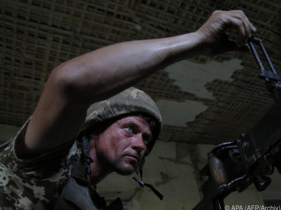 Seit 2014 wird im Donbass gekämpft