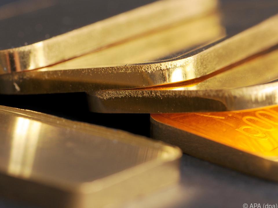Seit Jahresbeginn gewann Gold rund 30 Prozent an Wert