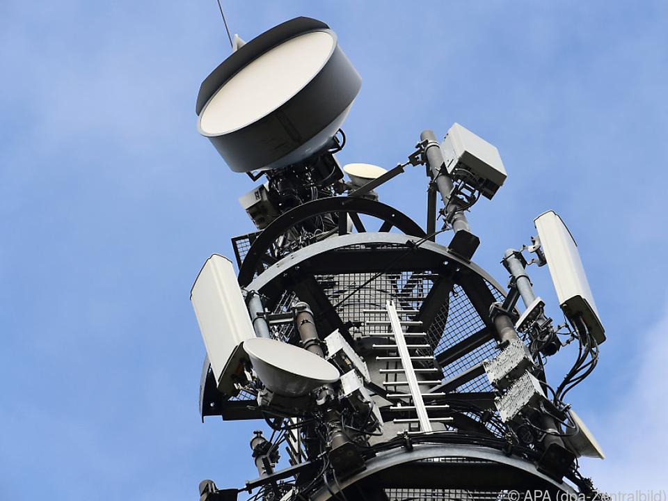 Sendemast für 5G in Deutschland