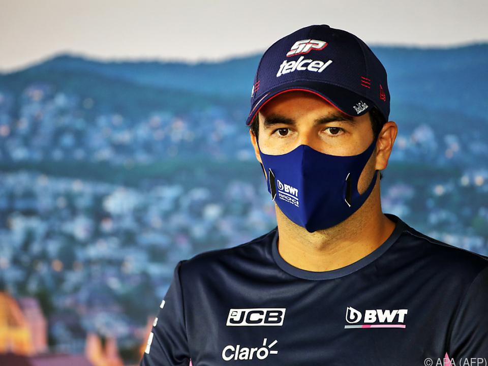 Sergio Perez kann nicht am Großen Preis von Großbritannien teilnehmen