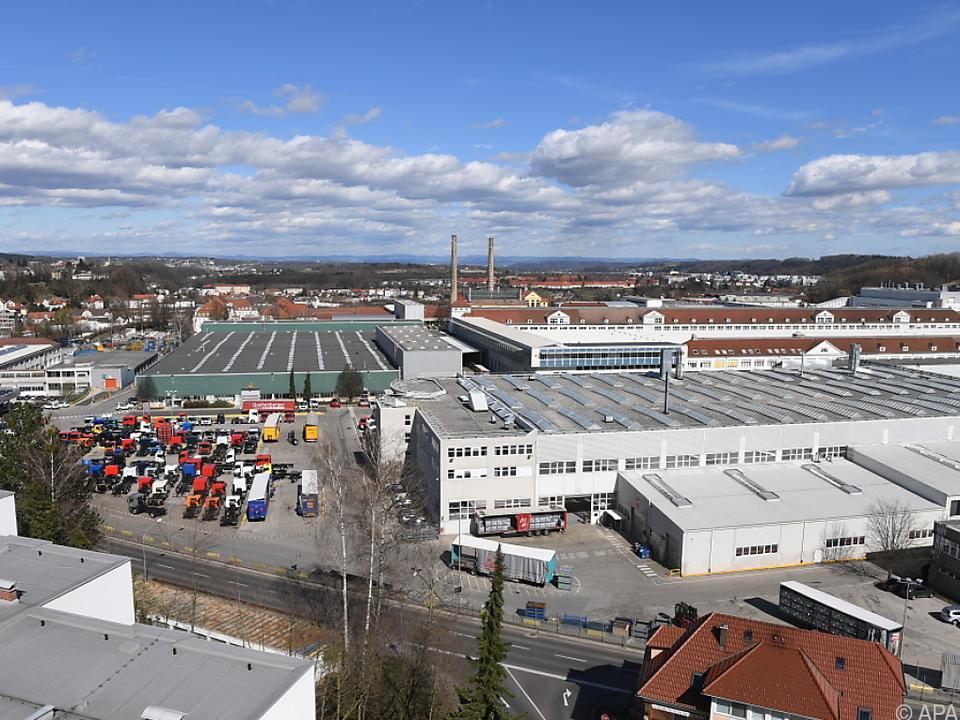 Standort des Lkw- und Bus-Herstellers MAN in Steyr