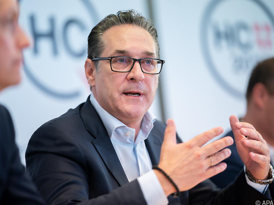 Strache: Korruption sei mit ihm \