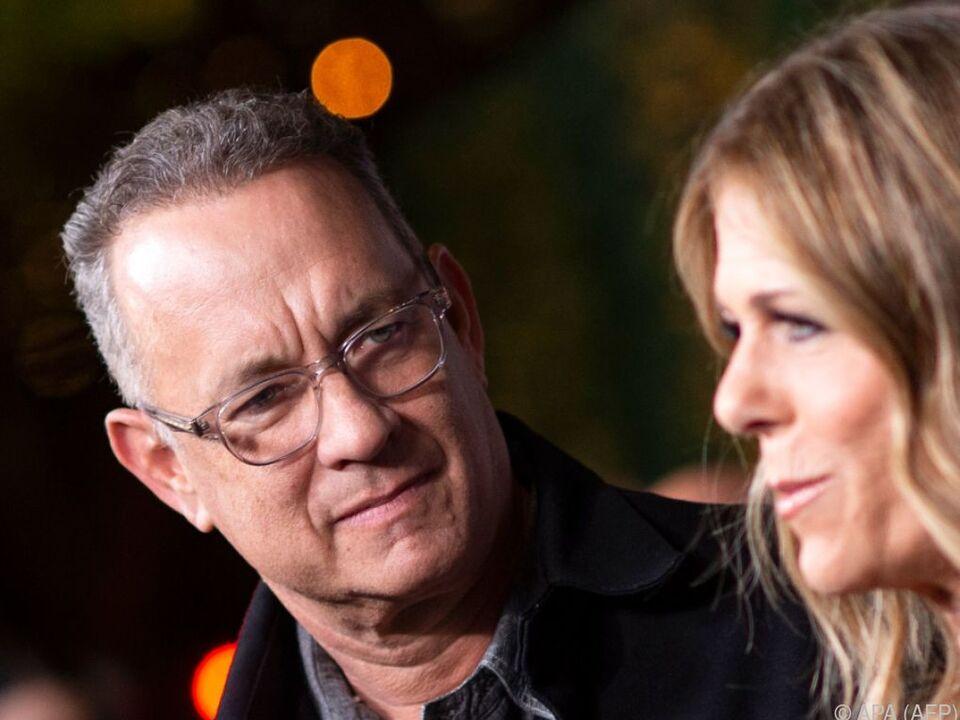 Tom Hanks und seine Frau Rita Wilson waren mit dem Virus infiziert