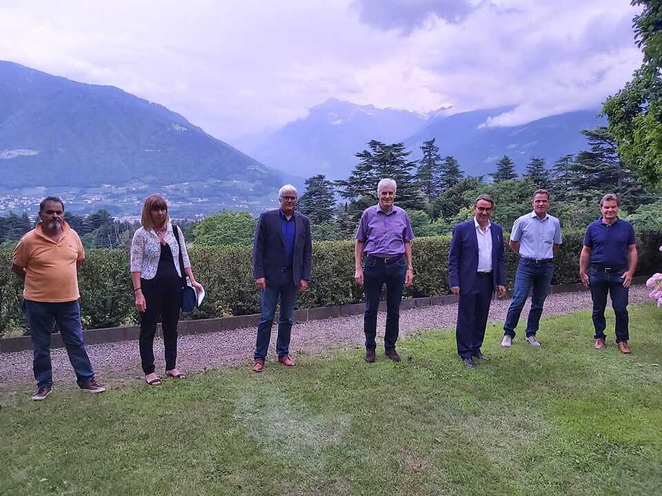 Treffen mit Bürgermeistern