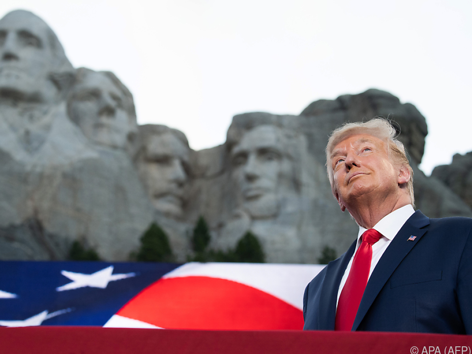 Trump sieht sich offenbar als Nummer fünf