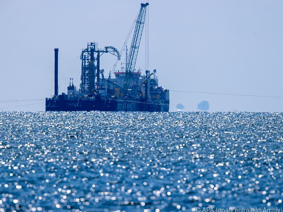 Umstrittene Pipeline soll Gas von Russland nach Deutschland bringen