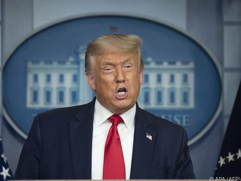 US-Präsident Trump bleibt bei Kritik an seiner Partei äußerst vage