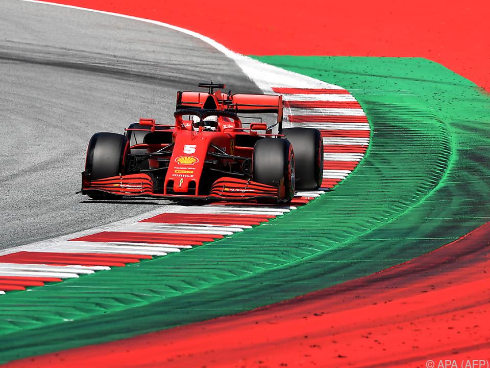 Vettel bleibt weiter ehrgeizig